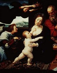 Breastfeeding Art from the Prado Museum, Madrid, Spain