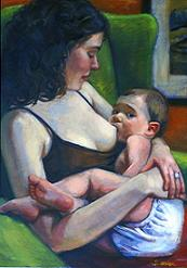 Breastfeeding a Toddler by Samantha Webber