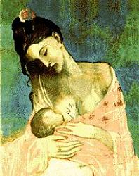 Picasso Breastfeeding Picture