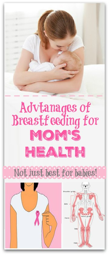 Not just best for babies! HUGE Advantages of Breastfeeding for Moms too!