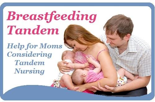 Breastfeeding tandem
