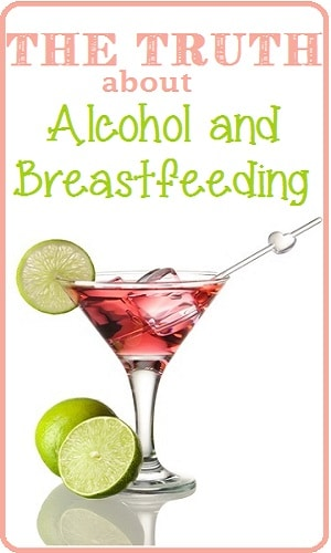 alcohol and breastfeeding
