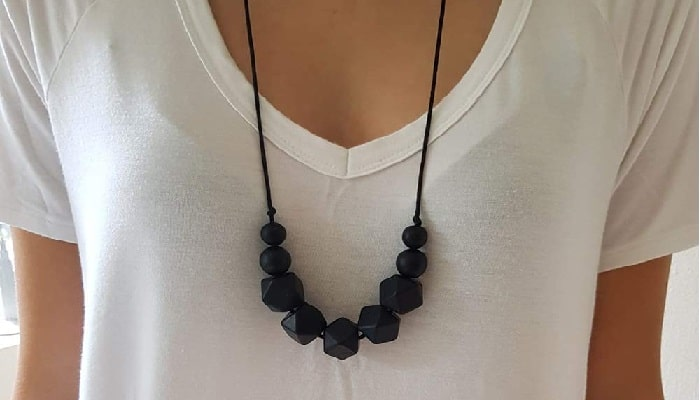 Ima-jewelry BPA Free Silicone Teething Necklace