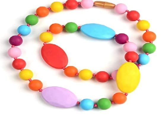 V-TOP Chewable Silicone Baby Necklace