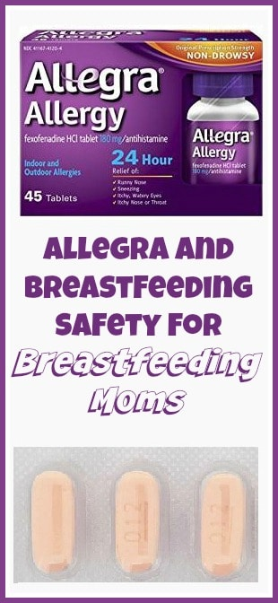 Non sedating antihistamines breastfeeding clothes