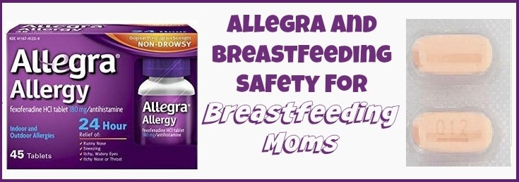 Non sedating antihistamines breastfeeding older