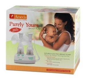 Ameda Purely Yours Breast Pump Box