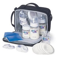 Avent Isis Breast Pump On the Go Set