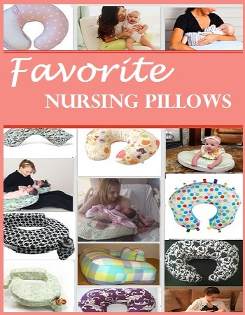 favorite nursing pillows