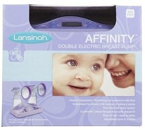 Lansinoh Affinity Breast Pump Box