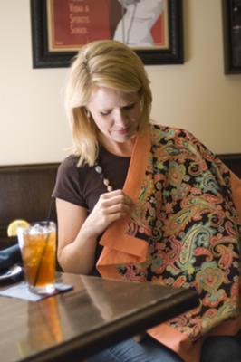 Peeky-Boo Nursing Blanket