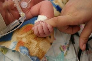 Preemie and mom