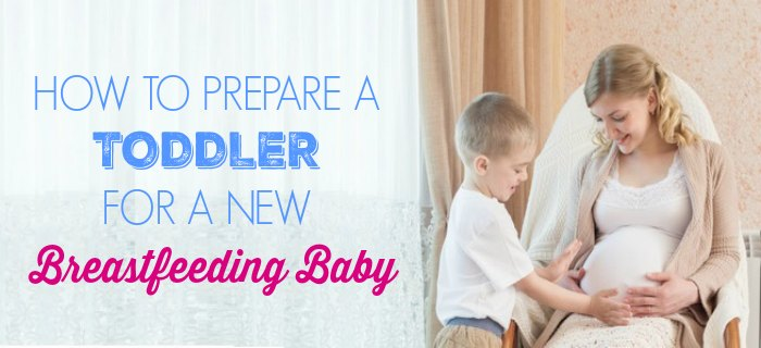 Preparing Your Toddler for a New Breastfeeding Baby