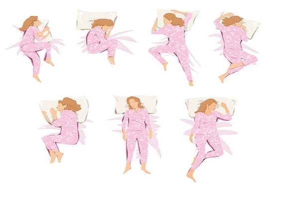 Mom Sleeping Positions