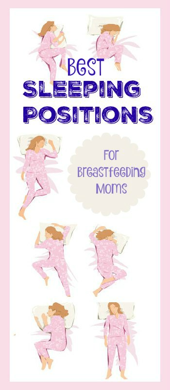 Best Sleeping Positions for Breastfeeding Moms