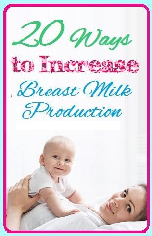 How do you increase breast milk supply