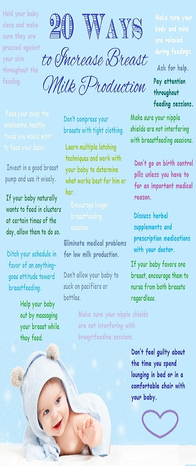 Increase Breast Milk Production Top 20 Ways To Do It-4233