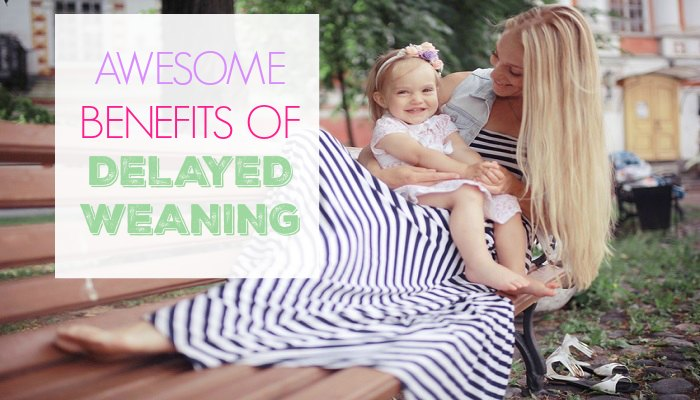 Benefits of delayed weaning beyond one year!