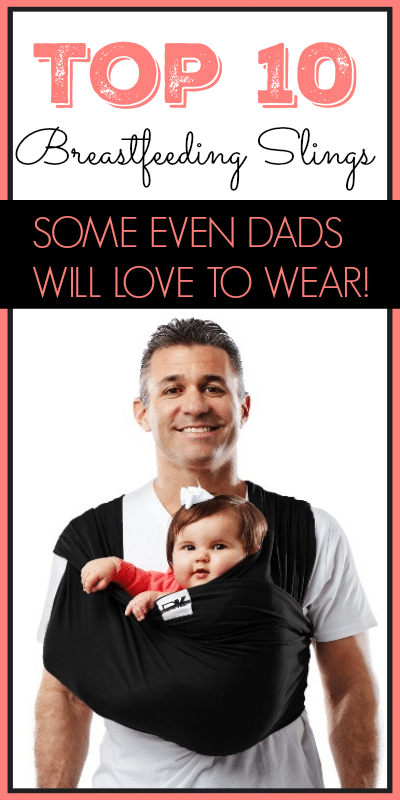Even Dads Will Love this Breastfeeding Sling!