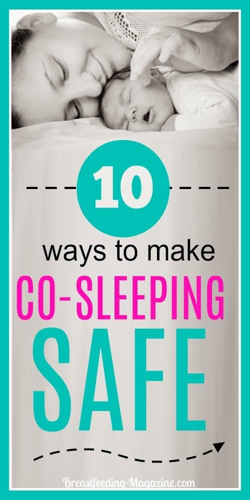 Ways to Make Cosleeping Safe