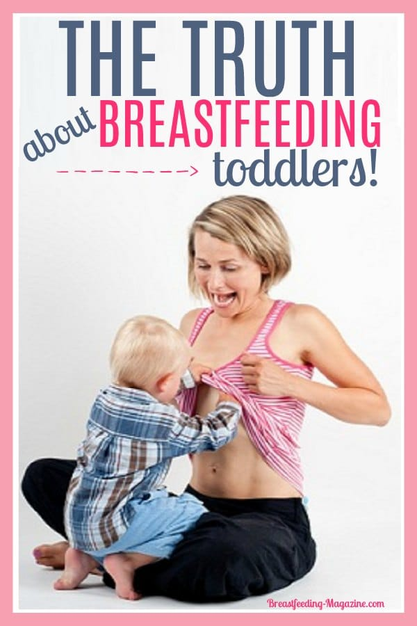 The Truth about Beastfeeding Toddlers