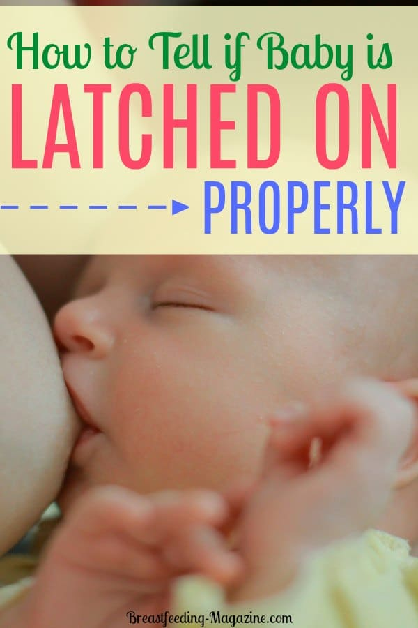 How to Tell if Baby is Latched on Properly