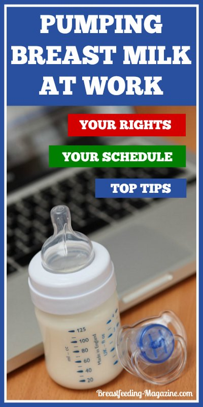 Your rights, your schedule and top tips for breast pumping at work