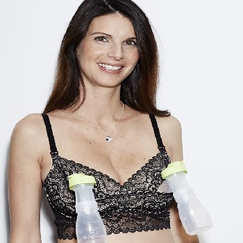The Dairy Fairy Underwire Nursing and Hands-Free Pumping Bra