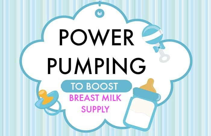 Power Pumping to Increase Breast Milk Supply when Breastfeeding
