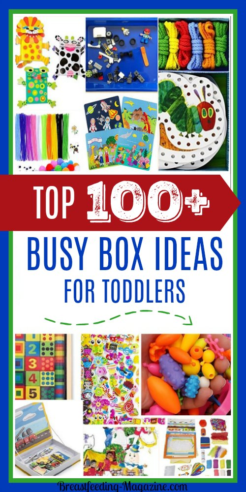 Top 100 best busy box ideas for toddlers and preschoolers