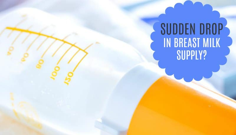 Sudden Drop in Breast Milk Supply? Common Causes and Fixes