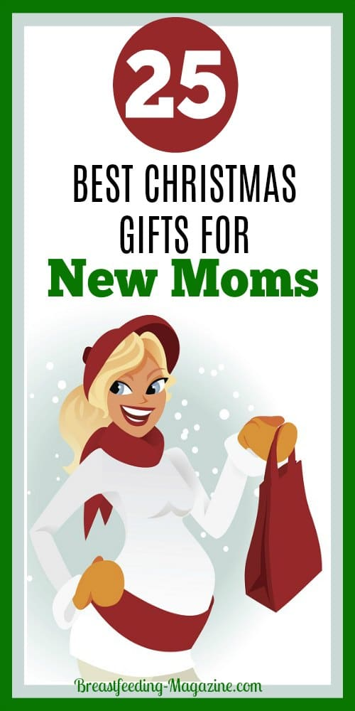 25 Best Christmas Gift Ideas for New Moms