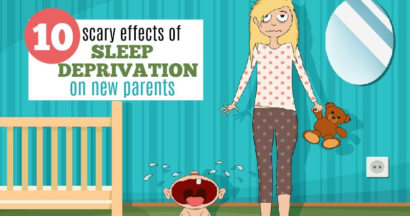 10 Scary Effects of Sleep Deprivation on New Parents (and Solutions!)