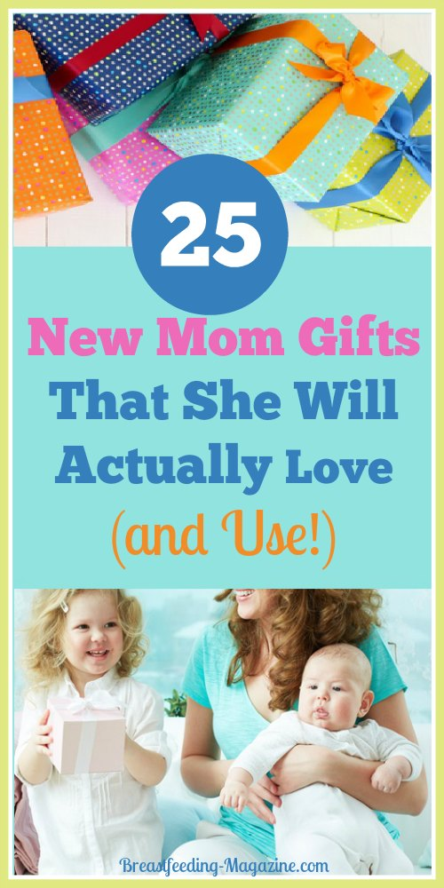 25 New Mom Gifts That Moms Love