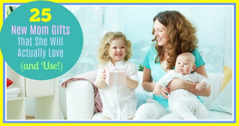 25 New Mom Gifts