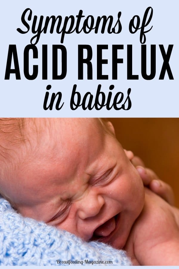 Symptoms of Acid Reflex in Babies