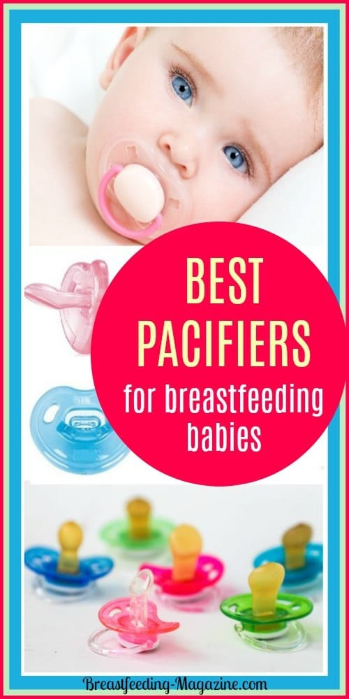 Best Pacifiers for Breastfeeding Babies