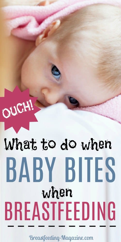 What to Do When Baby Bites!