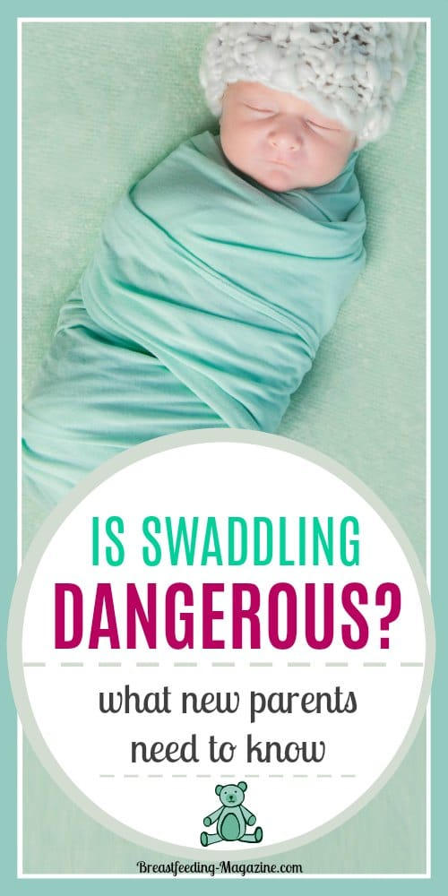 Should you be swaddling a baby or not?