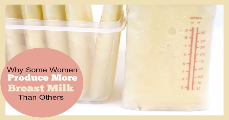 Why Some Women Produce More Breast Milk Than Others