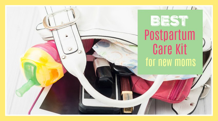 Postpartum Care Kit - A Shopping Checklist for Breastfeeding Moms