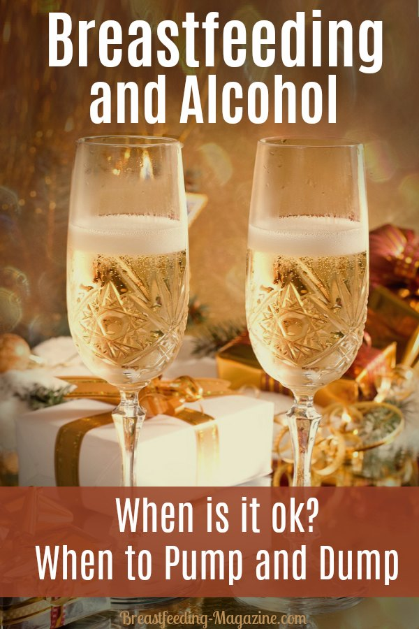 Is Breastfeeding when Drinking Alcohol Ok?