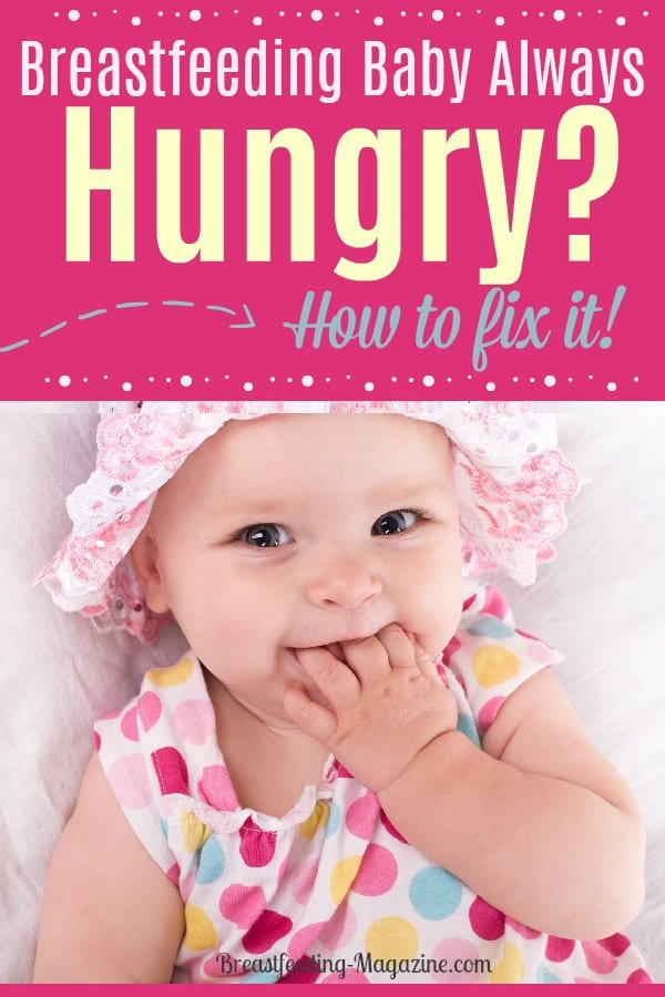 Baby Constantly Hungry How To Keep A Breastfed Baby Full -6655