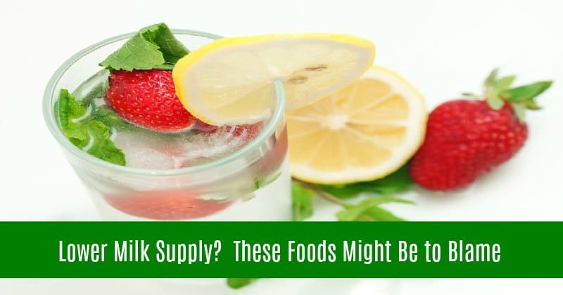 Lower Milk Supply? These Foods Might Be to Blame