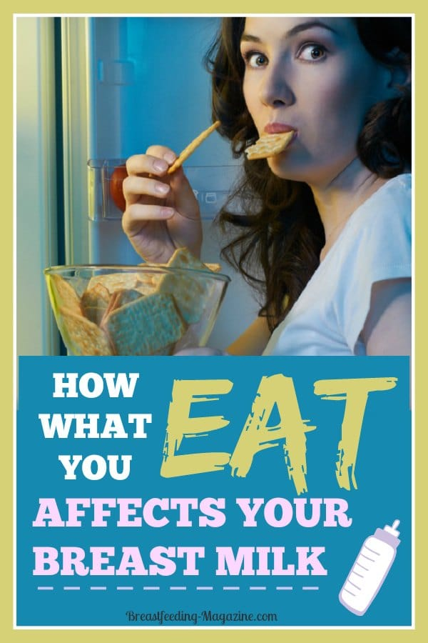 How What You Eat Affects Breast Milk