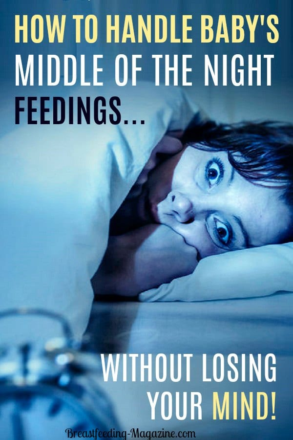 How to handle middle of the night feedings