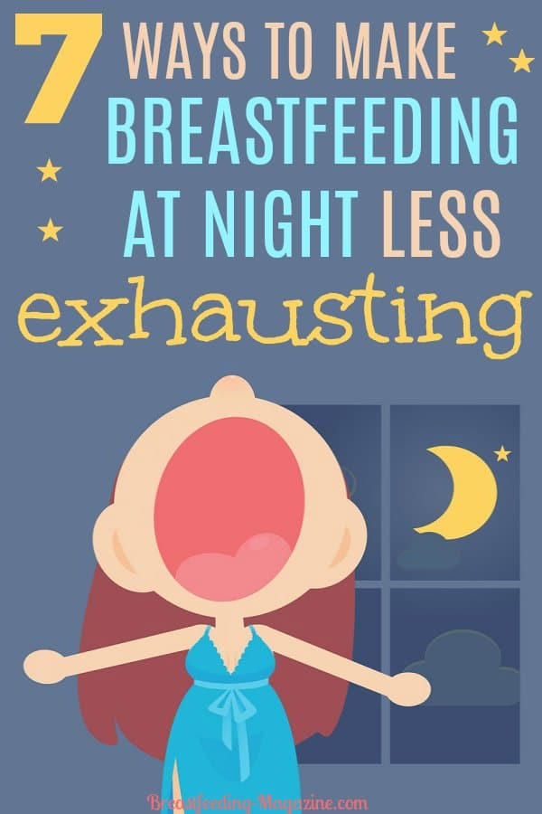 How to make breastfeeding at night less exhausting