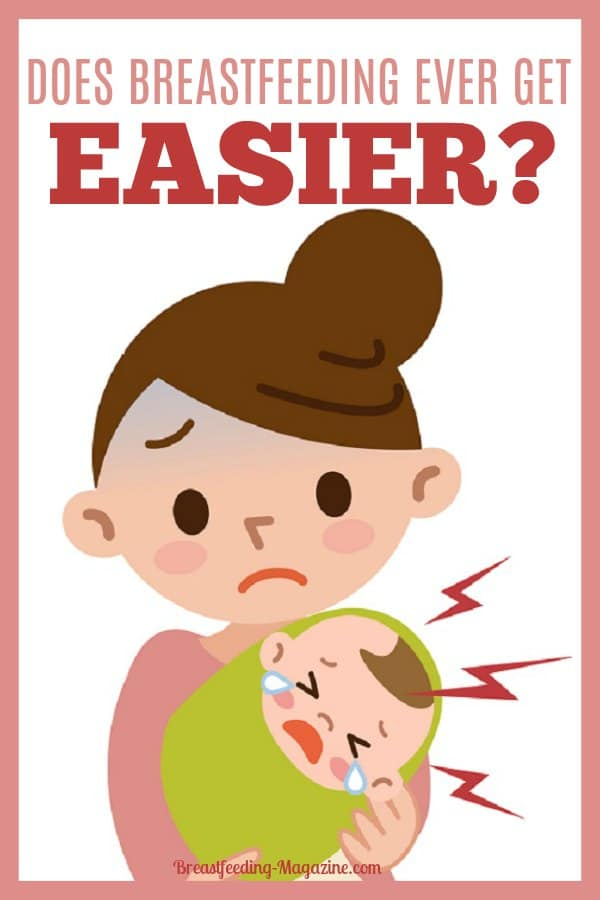 Does Breastfeeding Get Easier?