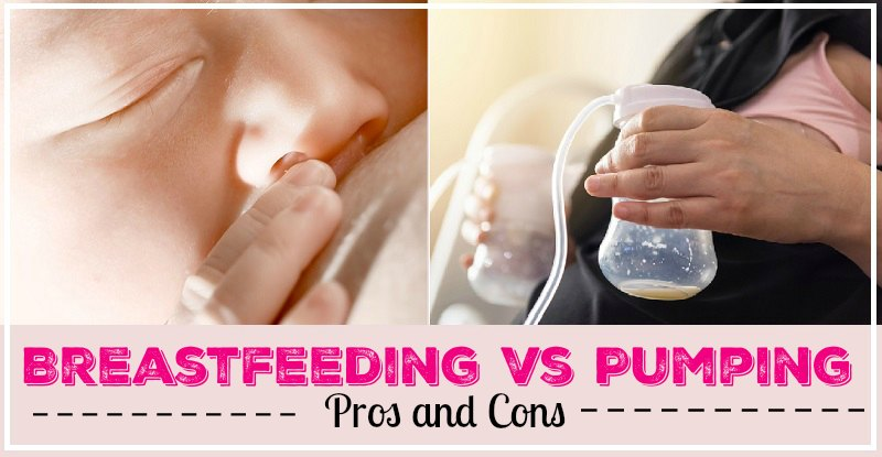 Benefits of Breastfeeding vs. Pumping