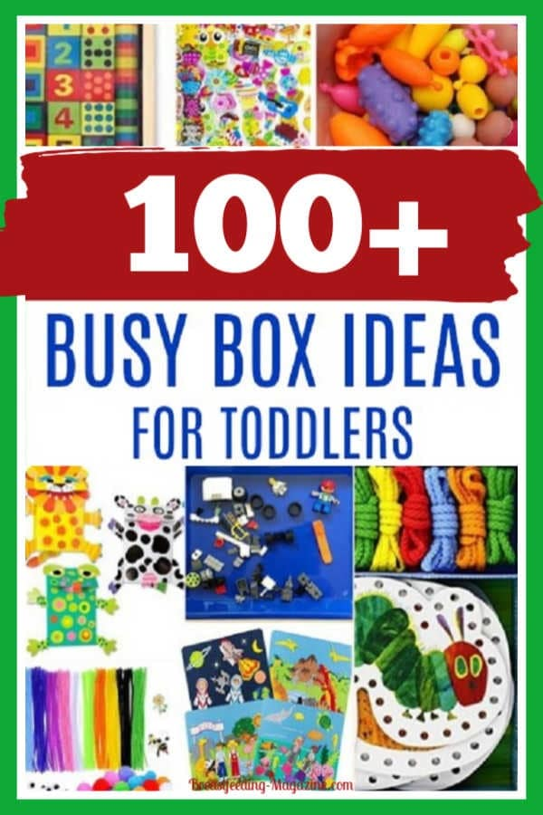 Busy Box Ideas for a Toddler